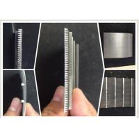 Buy cheap 0.1MM Slot Wire Mesh Screen For Suger Cane Making / Wedge Wire Filter Easy Clean from wholesalers