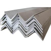 Buy cheap Black Steel Equal Angle Iron Sizes , Carbon Steel Angle Bar for Steel Structure from wholesalers