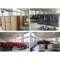 Buy cheap Customized Color Pneumatic 4D Cinema Equipment Seats Left Right product
