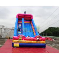 Buy cheap Inflatable Outdoor bouncy castle slide Elves slides for events from wholesalers