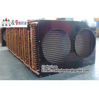 Buy cheap Finned Type Copper Tube Air Cooled Refrigeration Condenser Coil from wholesalers