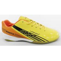 Buy cheap Indoor Outdoor Yellow Soccer Shoes Rubber Outsole Lightweight from wholesalers