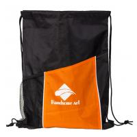 Buy cheap New Hot Selling Polyester Drawstring Bag with Pocket-HAD14022 from wholesalers
