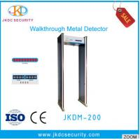 Buy cheap Acrylic Factory price walk through metal detector door access control used for body scanner security system from wholesalers