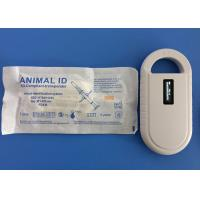 Buy cheap Radio Frequency Identification Animal ID Microchips 134.2Khz With Mini Size from wholesalers