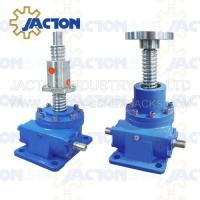 Buy cheap 35 Ton Ball Screw Jack High Precision Ball Screw 100MM Lead 20MM Gear Ratio 32:3, 32:1 from wholesalers