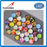Buy cheap Glass Crystal Fridge Decoration Magnets Custom Appearance 13mm Thickness from wholesalers