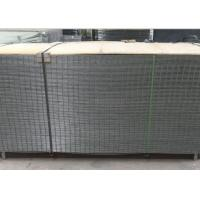 Buy cheap 4X4 Electro Galvanized Welded Wire Fence Panels For Buliding , Wear Resistant from wholesalers
