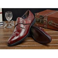 Buy cheap Most Comfy Classic Dress Shoes Daily Footwear With Welt Outsole Antiskid from wholesalers
