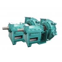 Buy cheap Non Clog Hard Metal Split Casing Industrial Slurry Pumps For High Solids In Mining from wholesalers