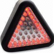 Buy cheap 24 Red LED Flash Warning Car Emergency Reflective Triangle Work Light for Traffic from wholesalers