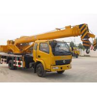 Buy cheap 25 Ton Straight Telescopic Boom Truck Crane for Mining Engineering / Landscaping from wholesalers