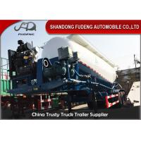 Buy cheap 50cbm Bulk Cement Tank Semi Trailer , Silo Bulker Cement Tank Trailer from wholesalers