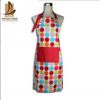 Custom Colored Home Cooking Cotton Kitchen Apron 70 x 80cm 250gsm