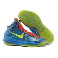 Buy cheap Nike Zoom KD V Shoes Christmas Edition Blue Red Epoptic from wholesalers