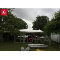 Buy cheap Custom Curved Peak Flat Aluminum Roof Frame Truss Structure With Tent from wholesalers