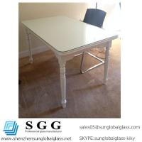 Buy cheap dining tables used awesome white furniture glass top from wholesalers