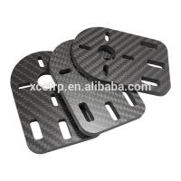 Buy cheap 4MM Carbon Fiber Plate CNC Cutting Plain Carbon Parts For RC Car Chassis from wholesalers