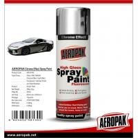 Buy cheap Aeropak fast dry high glossy Chrome Effect Spray Paint, bright chrome color, vivid in gloss, long lasting from wholesalers