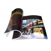 Buy cheap A4 Soft Book with Perfect Binding or Saddle Stitch CMYK, PMS Colour Brochure Printing from wholesalers
