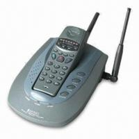 Buy cheap State-of-the Art Cordless Phones with Its Ultra-small Handset, Communication Distance Up to 30km from wholesalers
