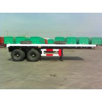 Buy cheap 20 Feet Flat Bed Container Semi-Trailer with 2 BPW axles for 20 feet ISO Container_9302TJZP20F from wholesalers