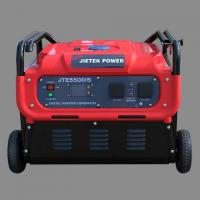 Buy cheap 5.5KW Pure sine wave dual flow cooling system single phase save 20%-40% fuel inverter generator set from wholesalers