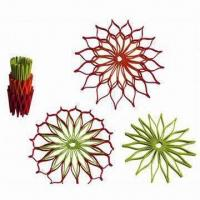Buy cheap Silicone Mat/Trivet/Pot Holders with High Heat Resistant and Dishwasher Safe from wholesalers
