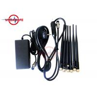16W Fixed Indoor Mobile Phone Signal Jammer 50m Coverage Range Easy Operation