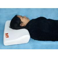 Buy cheap Customized Logo White Wavy Pillow For Sleepless People / Cervical Spondylosis from wholesalers