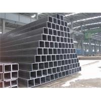 Buy cheap ASTM A500 Galvanized Square Pipe , Carbon Steel Square Metal Tubing With Holes from wholesalers
