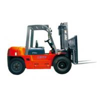 Buy cheap Durable Warehouse Lifting Equipment 5 Ton Diesel Forklift With Side Sliding Fork product