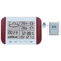 Buy cheap 433MHz RF RCC Wireless Weather Station with Digital Alarm Clock Barometer Indoor Outdoor Temperature Humidity MS6145D from wholesalers