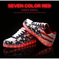 Buy cheap led shoes with USB Charge New Women LED Light Luminous Sneaker High Top Lovers Athletic from wholesalers