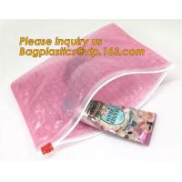 Buy cheap Protection Usage For Packaging Slider Bags Air Bubble Bags,Biodegradable pvc made shock resistance transparent clear zip from wholesalers