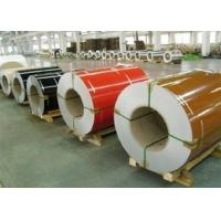 China Wrinkle PPGI Steel Coils , Aluzinc Steel Coil For Roofing External Wall on sale