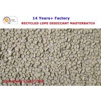 Buy cheap 200 Hours valid time Recycled LDPE desiccant masterbatch factory in China from wholesalers