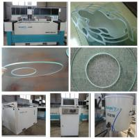 Buy cheap 2017 low price marble and granite mosaic 1500*2500mm 420Mpa CNC water jet cutting machine with CE from wholesalers