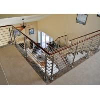 Buy cheap Safety 1 Meter MOQ Stainless Steel Railing 304ss Rod No Welding Indoor from wholesalers