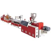 Buy cheap Complete PVC Windows / Door Frame Making Machine WPC Profile Production Line from wholesalers