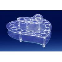 Buy cheap Crystal Acrylic Cosmetic Display Holder , Transparent Acrylic Makeup Display from wholesalers
