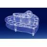 Buy cheap Crystal Acrylic Cosmetic Display Holder , Transparent Acrylic Makeup Display Holder from wholesalers