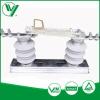 Buy cheap Outdoor 12KV 400A Three Post Low Voltage Isolator Electric AC Isolation Switch from wholesalers
