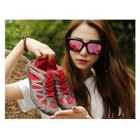Buy cheap Easy Dry Yellow Ladies Surf Shoes , Womens Wading Shoes With Drain Holes from wholesalers
