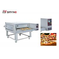 Buy cheap Gas Commercial Pizza Oven Stainless Steel Hot Air Conveyor Low Comsuption from wholesalers