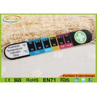 Buy cheap Colorful Digital LCD Temperature Sensor Sticker Adhesive Temperature Strips from wholesalers
