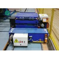 China Rail or Steerable Die Electric Transfer Cart MotorizedPlatform Trolley Battery Operated on sale