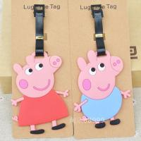 Buy cheap luggage Tags with Peppa Pig from wholesalers