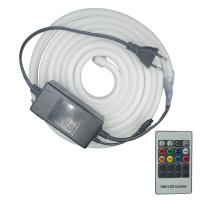 Buy cheap 220V Flexible Led Neon Rope Light , Led Strip Lights For Home Decoration from wholesalers