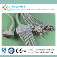 Buy cheap One-piece Philips M1770A EKG Cable with 10 leads product